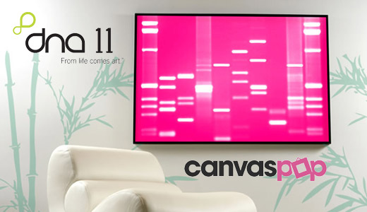 DNA Art and Print to Canvas by DNA11 / CanvasPop