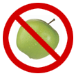 No fruits